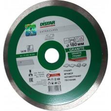 Алмазный диск DISTAR 180x25,4 мм. 1A1R GRANITE сплошной