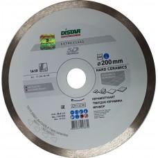 Алмазный диск DISTAR 200x25,4 мм. 1A1R  HARD CERAMICS сплошной