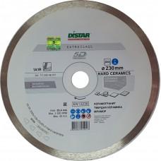 Алмазный диск DISTAR 230x22,2 мм. 1A1R HARD CERAMICS сплошной