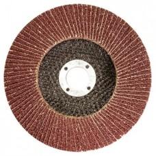 Круг лепестковый торцевой КЛТ-1, зернистость Р 100, 125 х 22,2 мм
