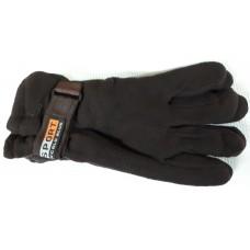 Перчатки Спорт флис утепленные(черные,синие)