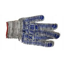 Перчатки тракт Капкан(IRFIX) утепленные(серые с голубыми точками)