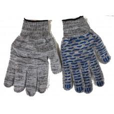 Перчатки трикотажные с защитой от скольжения(точка)
