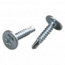Саморезы по металлу с пресс-шайбой с наконечником сверло 4,2х13 мм